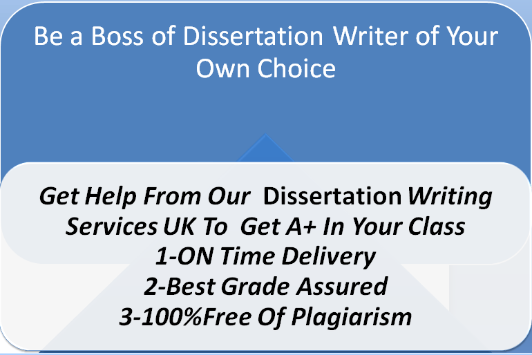 Be a Boss of Dissertation Writer of Your Own Choice