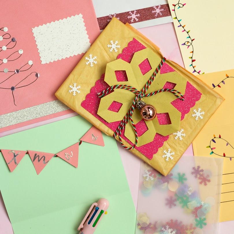 diy festive happy mail ideas
