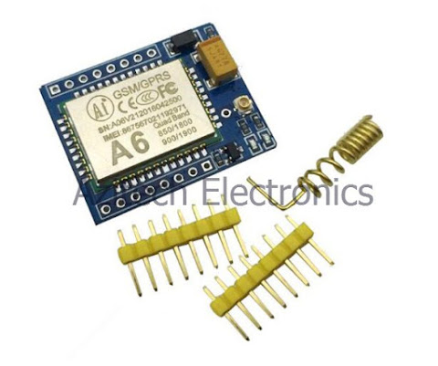 183) GPRS A6 Pro Serial GPRS GSM Module Core Developemnt Board