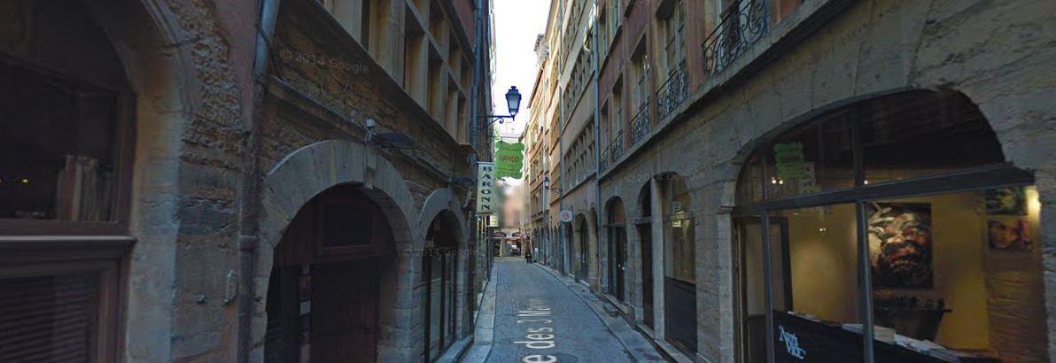 Rue des 3 Maries à Lyon