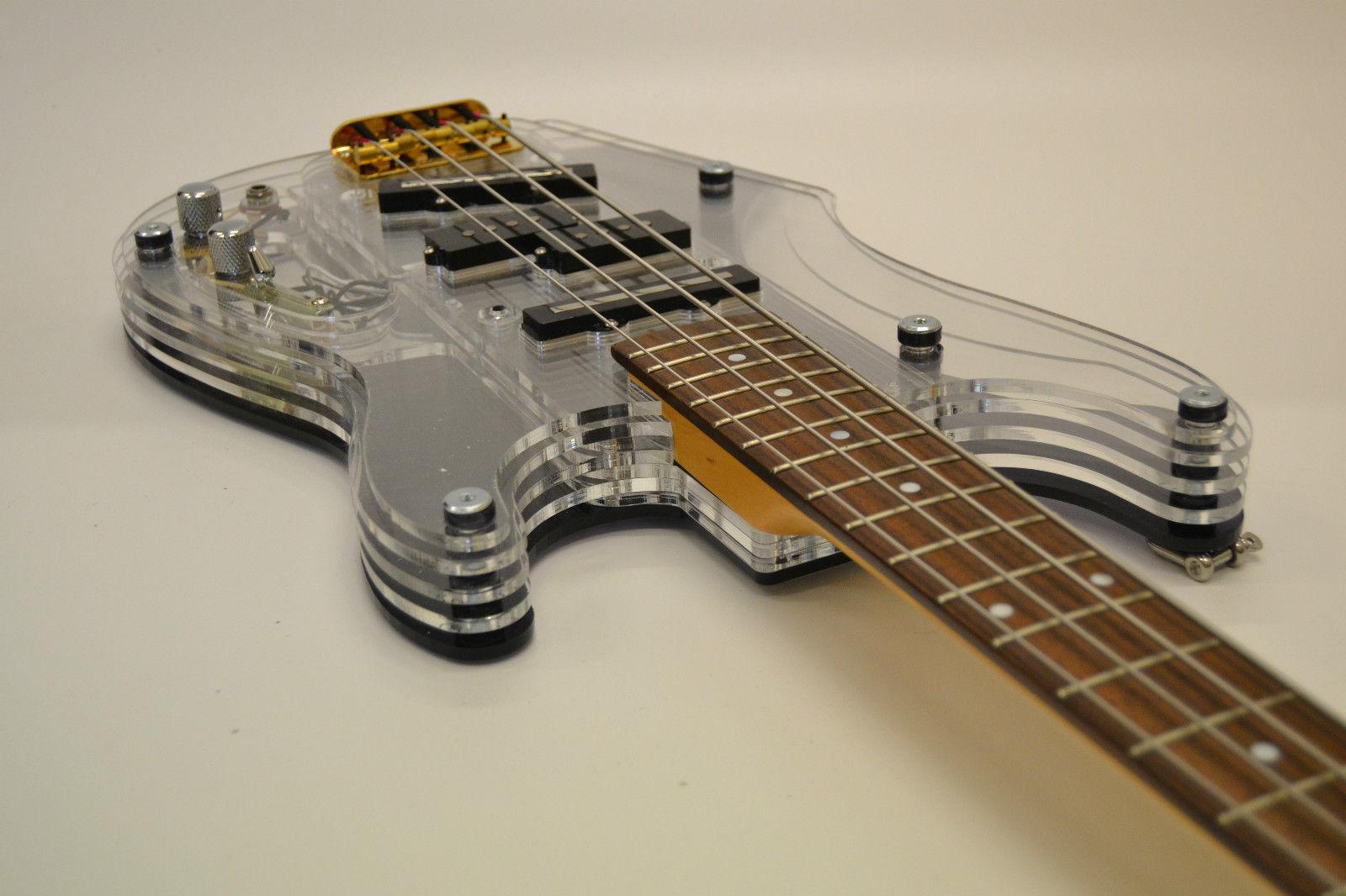 guitar blog layer guitars acrylic bodied bass guitar. Black Bedroom Furniture Sets. Home Design Ideas