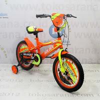 16in Golden Stormy BMX Kids Bike