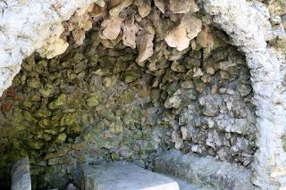 Grotto at the picnic spot