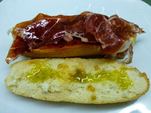 Receta de pulguita de jamón ibérico
