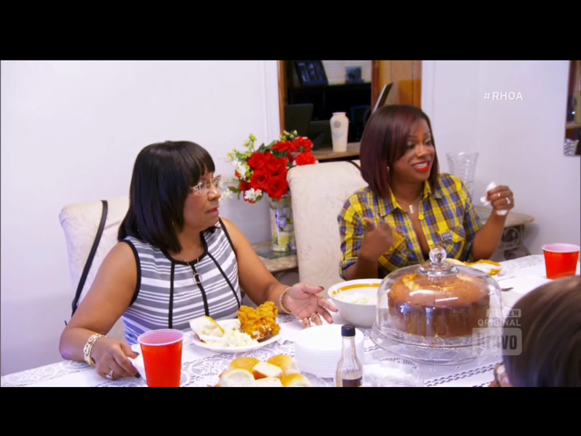 Kandi Burruss and Mama Joyce