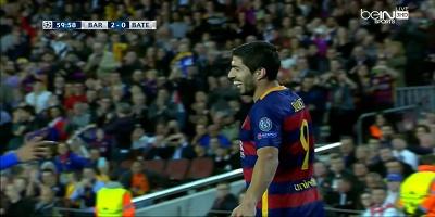 UEFA Group E : Barcelona 3 vs 0 Bate Borisov 04-11-2015