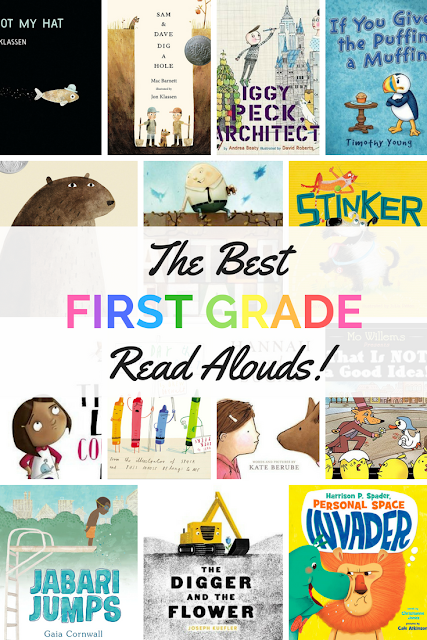 The Best First Grade Read Alouds #1stgrade #readalouds #picturebooks #childrenslit #firstgrade