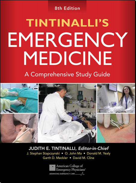 Tintinallis Emergency Medicine 8th Edition [PDF ]-A Comprehensive Study Guide