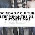 Sociedad y cultura ¿determinantes de la autoestima?