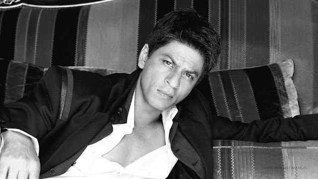 Bollywood King Shah Rukh Khan Latest Desktop Black and White HD Wallpapers