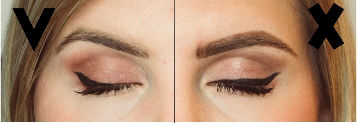 how to put on eyeliner correctly