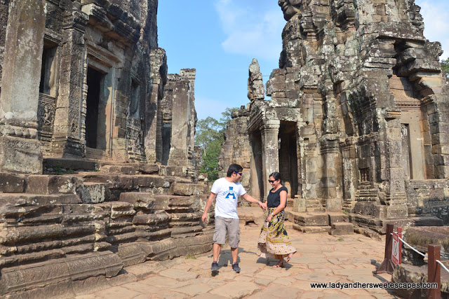 Ed and Lady in Siem Reap