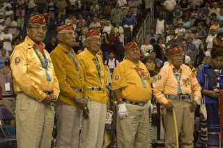 World War II Veteran Navajo Code Talkers
