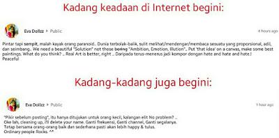 Internet bebas nan bablas. T_T