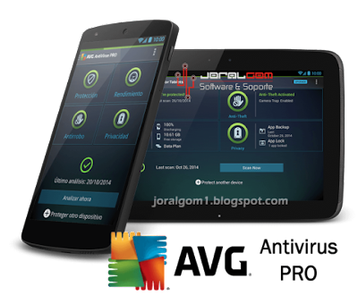 AVG AntiVirus PRO Android Security v4.4.2 [Smartphone & Tablet] [Full APK]
