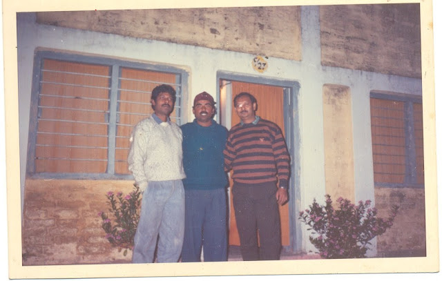 Heera sir, Art sir and PT sir, 1997 jnv khagaria
