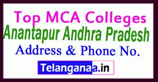 Top MCA Colleges in Anantapur Andhra Pradesh