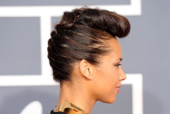 Fashion Hairstyles Alicia Keys Hairstyles 2012 Most