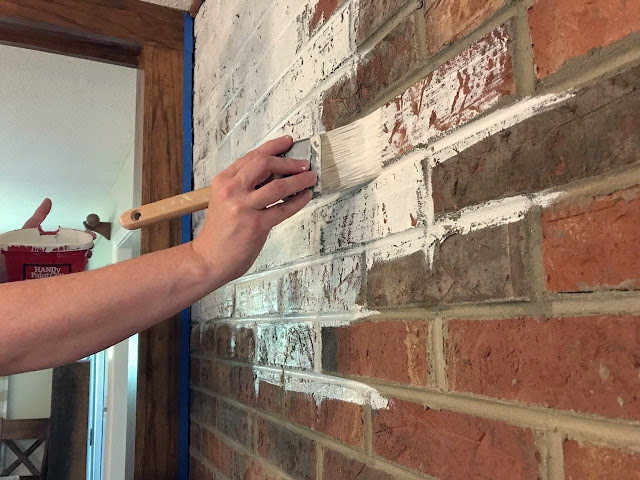 painting bricks