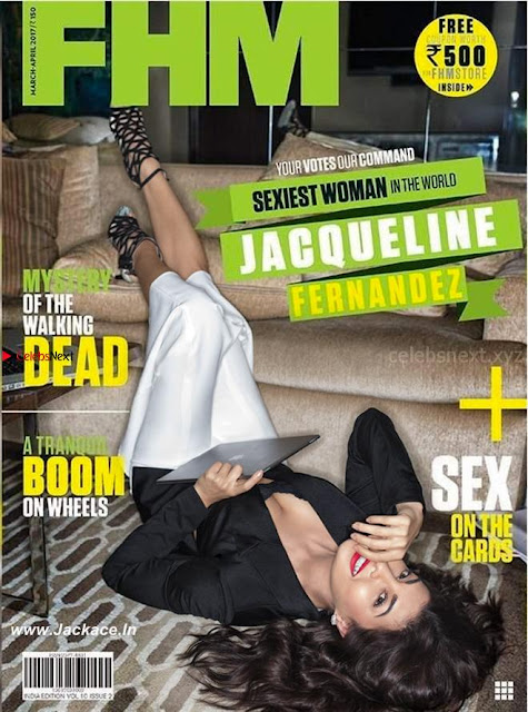 Jacquline Fernandez Poshoot for FHM India    4.jpg