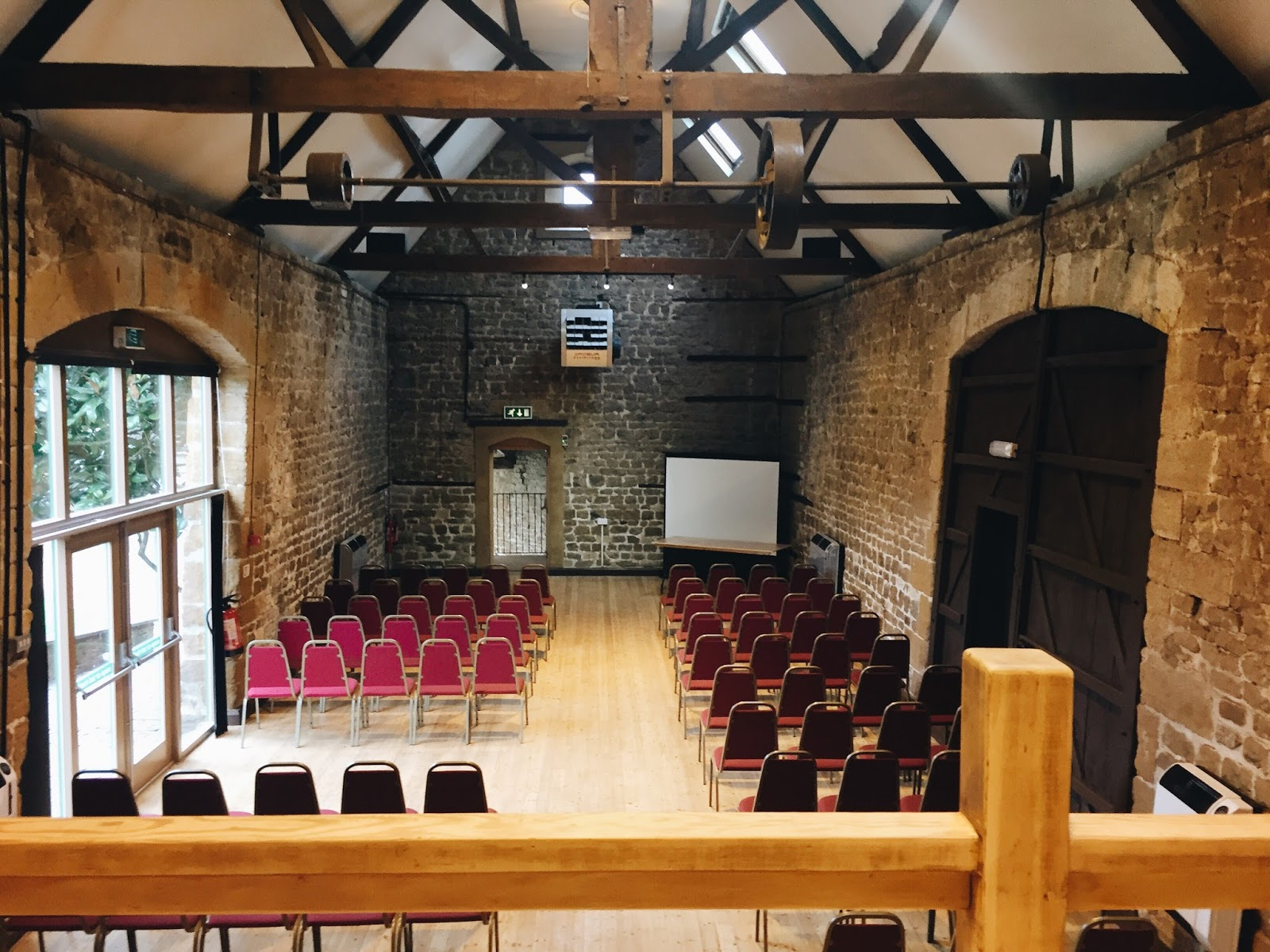 Hunsbury Hill Centre Barn Wedding Inside