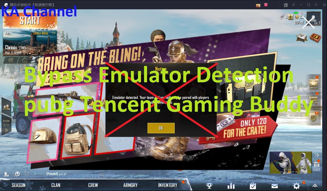 Bypass Emulator Detected