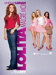 """Affiche française de """"Mean Girls,"""" Lolita Malgré Moi (2003)"""