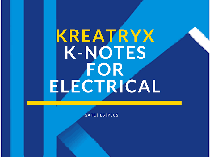 Electrical machine Kreatryx notes