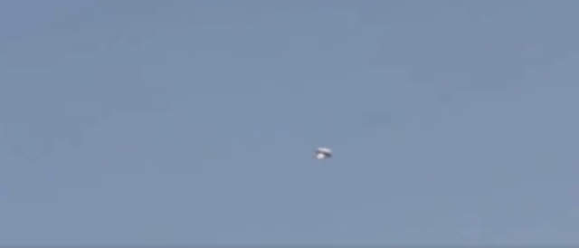 Zoomed out looking at the Prometheus like UFO over France.