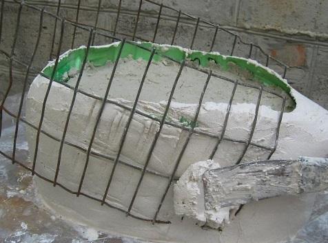 moldes para hacer macetas de cemento: como hacer una maceta cisne