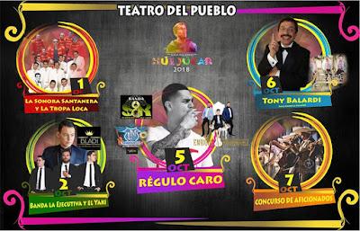 teatro del pueblo feria huejúcar 2018