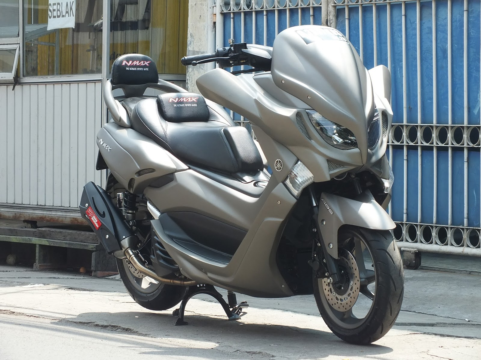 Doctor Matic Klinik Spesialis Motor Matic Yamaha NMAX Modifikasi FULL