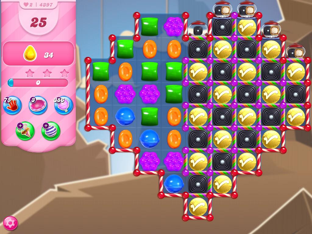 Candy Crush Saga level 4397