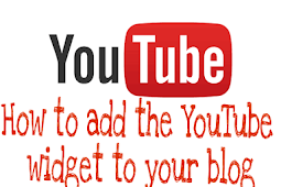 How to add the YouTube widget to your blog