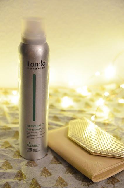 londa refresh dry shampoo