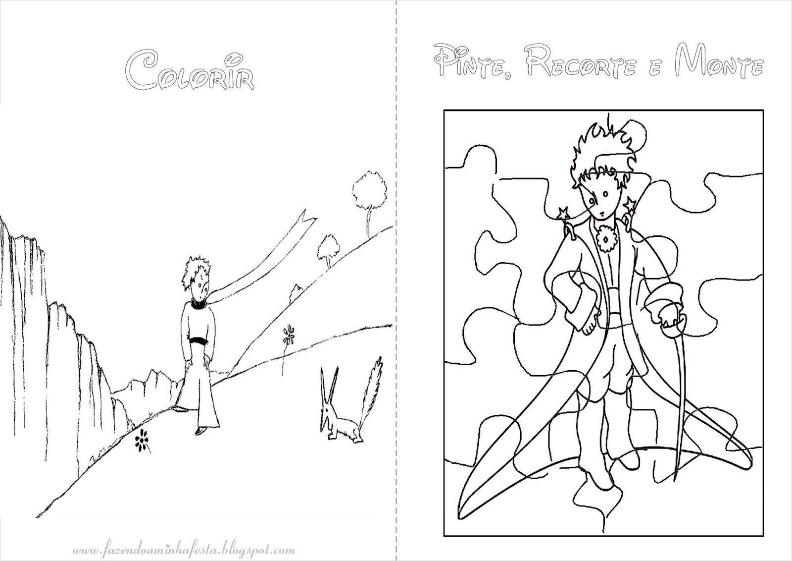 Desenhos Para Colorir Principe: Colorir: Pequeno Príncipe