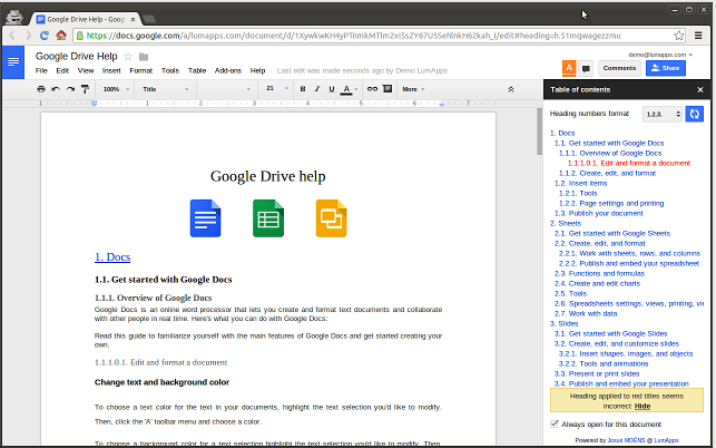 two simple ways to create a table of content in google docs, Presentation templates
