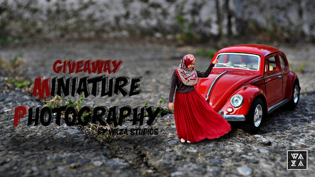 GIVEAWAY MINIATURE PHOTOGRAPHY BY WAWA STUDIOS