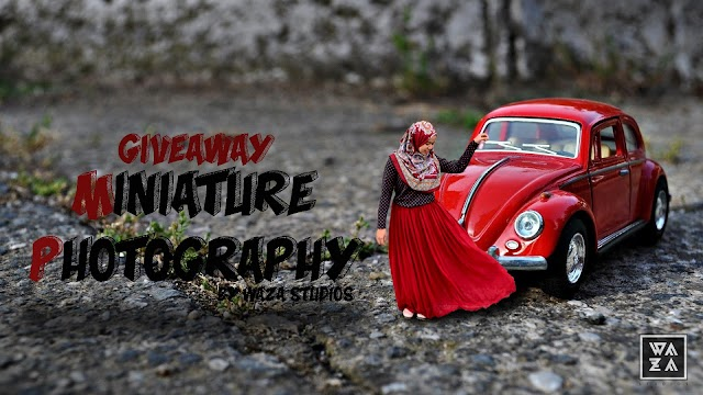 giveaway miniature photography by waza studios