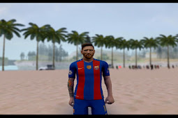 Lionel Messi (FC Barcelona) GTA San Andreas