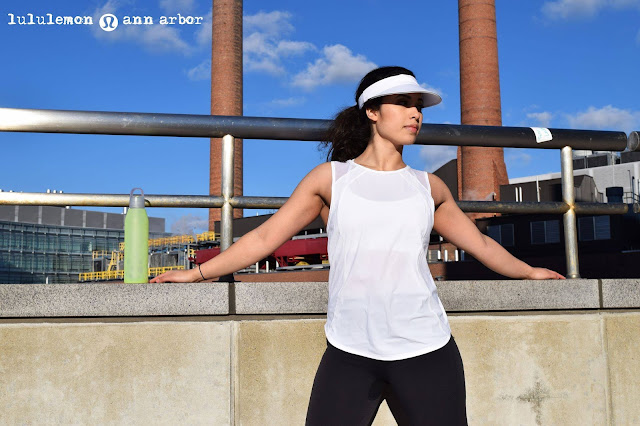 lululemon white-sculpt-tank