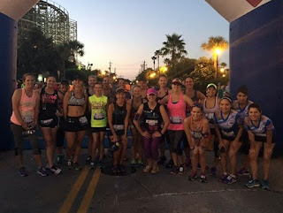 League City Moms Run This Town attack the Toughest 10K