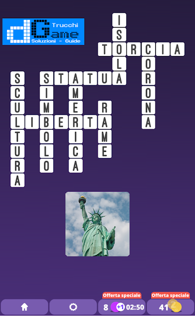 Soluzioni One Clue Crossword livello 2 schema10 (Cruciverba illustrato)  | Parole e foto