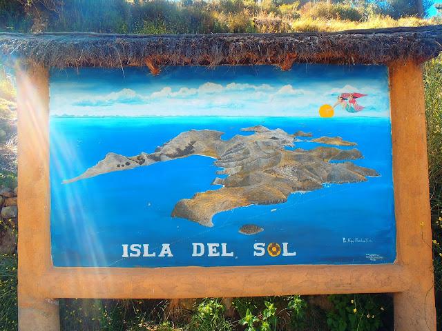 Isla del Sol Map