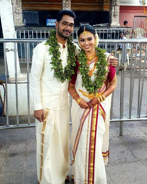 Actress Sonu Satheesh Kumar married Ajay| Wedding Photos