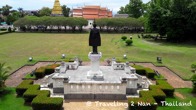 Garden of Nan National Museum in Nan, Thailand