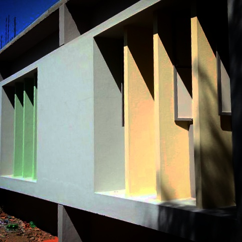 ashokism colors in architecture