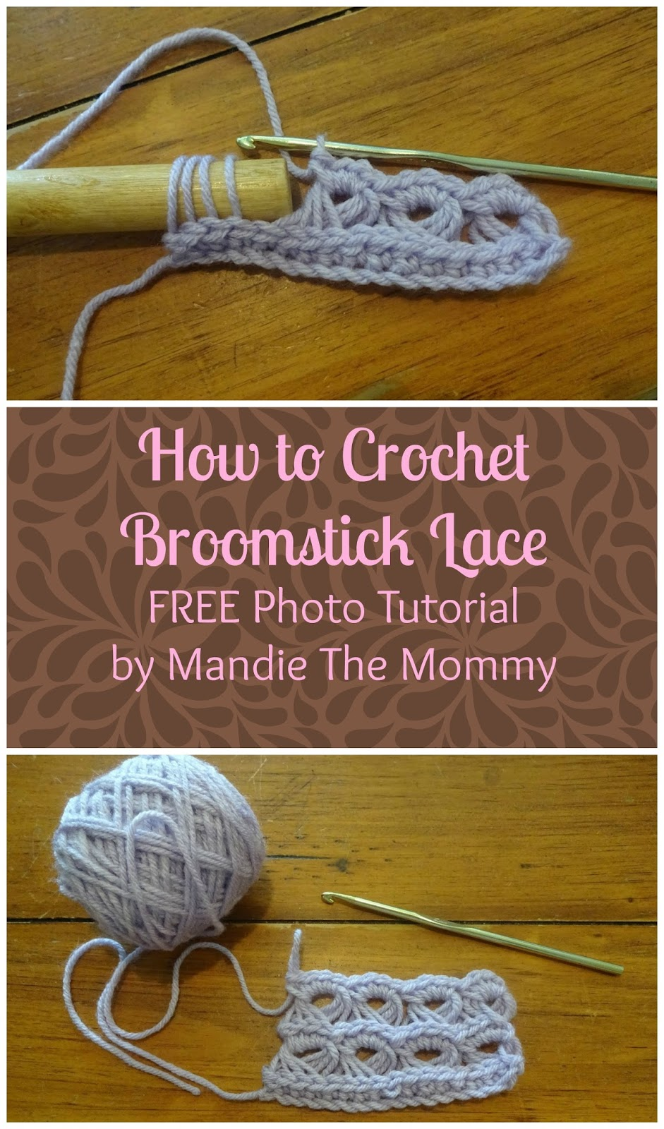 Broomstick Lace Photo Tutorial