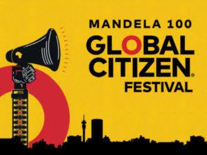 Pharrell Williams at Global Citizen Festival: Mandela 100