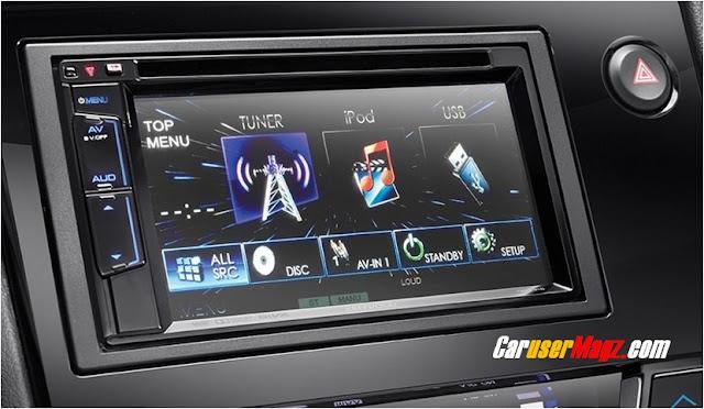 Audio Unit Head Mobilio Facelift 2016 Tipe E CVT dan GS - Touchscreen 6.2 inch Monitor